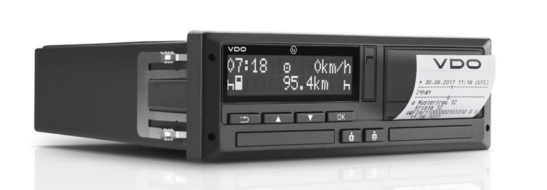 Digital 1318 Tachograph black and white