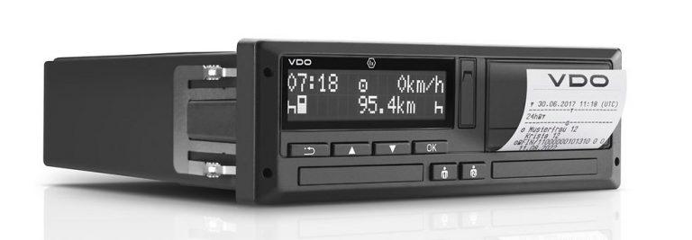 Digital 1318 Tachograph black and white